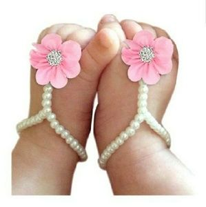 Other - Baby beaded foot wear